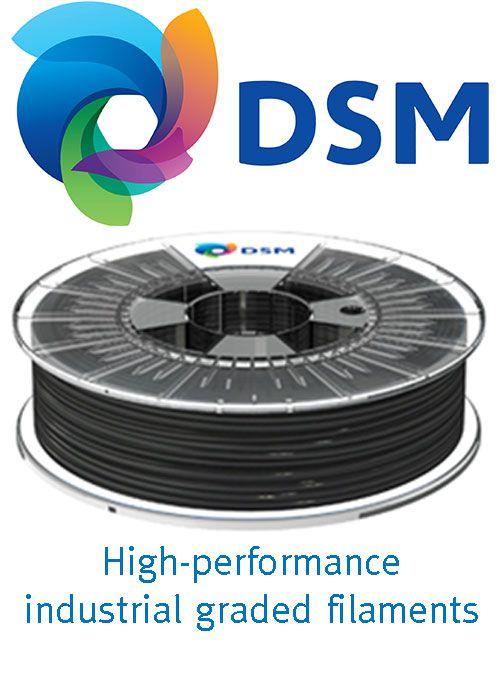 DSM industrial-graded, high performance filaments