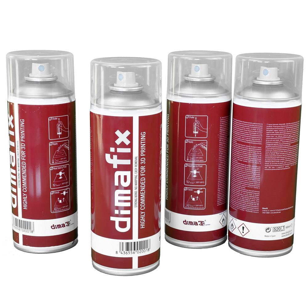DimaFix - Fixative Spray for 3D Printing